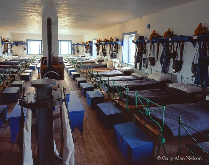 wyoming, national historic site, ft. laramie, barracks, photo