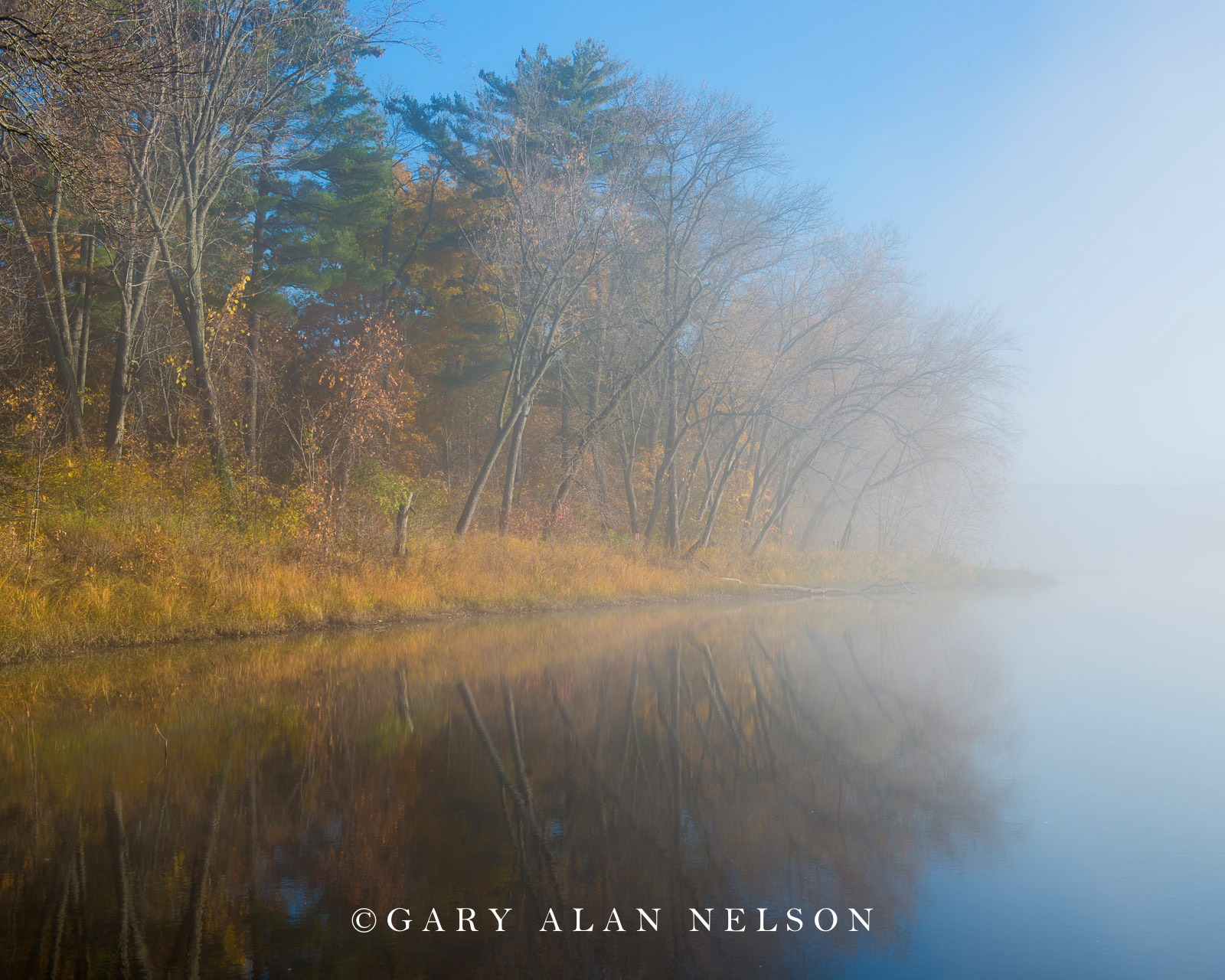Changing colors along the St. Croix National Scenic River, Minnesota.