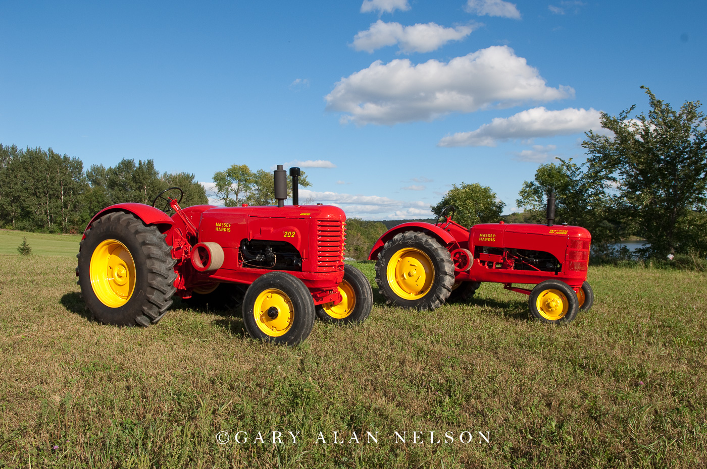 1941 Massey-Harris 202 and 1941 Massey-Harris 101 Junior