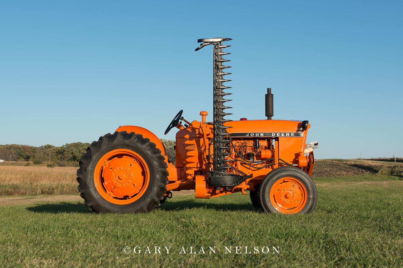 1965 John Deere 1010U Highway Orange. John Deere 310 M Power Mower