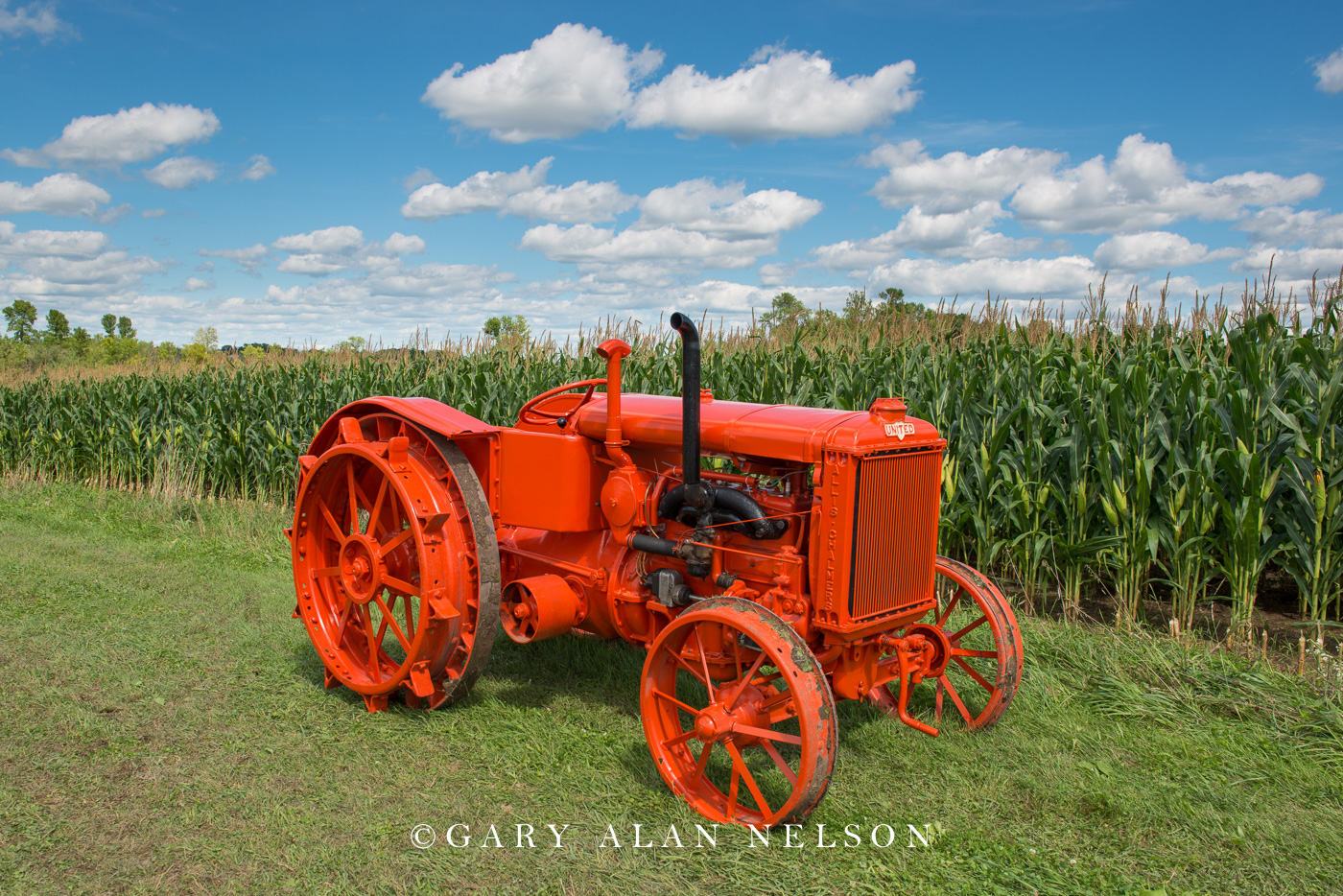 Allis-Chalmers, antique tractor, united, photo
