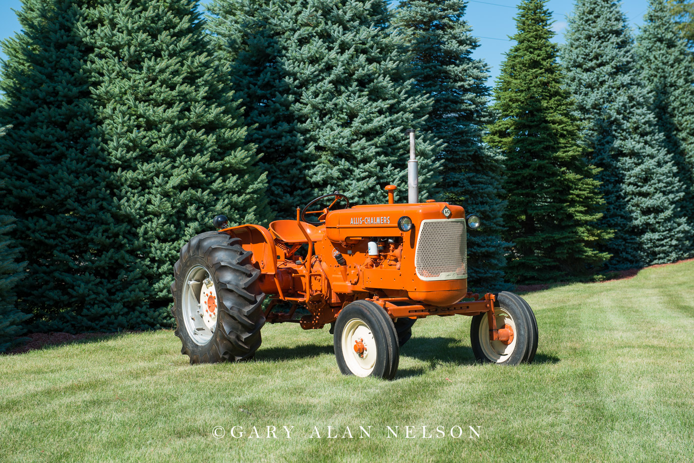 Allis-Chalmers, antique tractor, photo