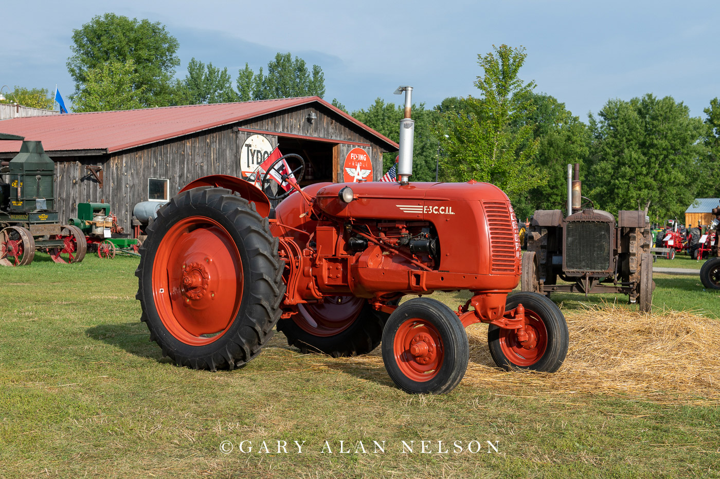 C.C.I.L., Co-Op, antique tractor, photo