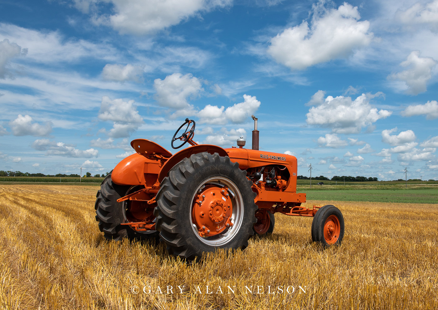 Allis-Chalmers, antique tractor, photo