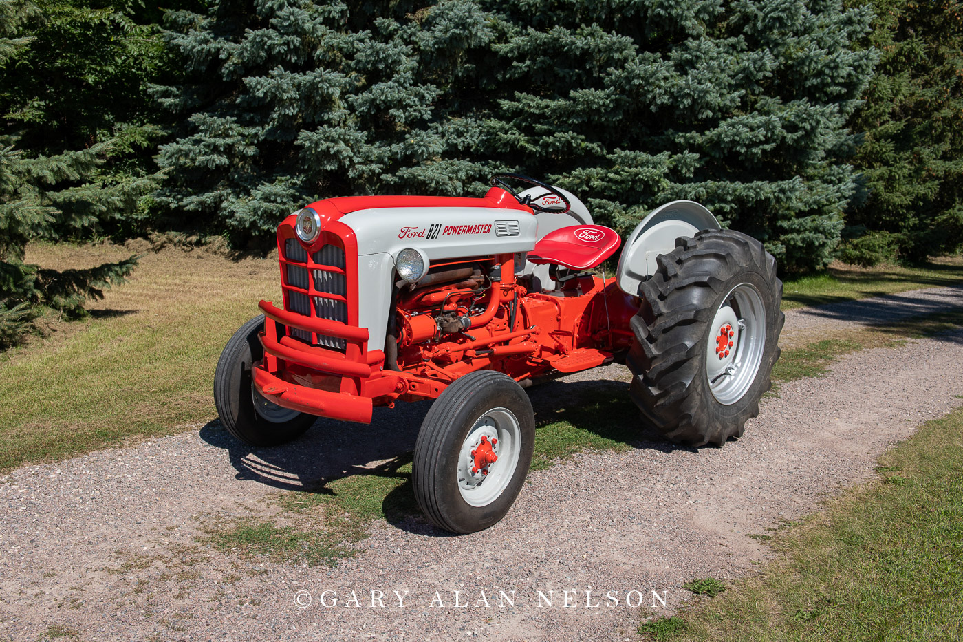 1958 Ford 821 Powermaster