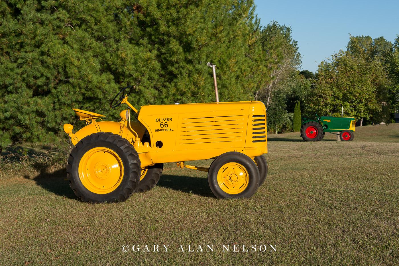 1954 Oliver 66 Industrial, and 1949 Oliver 66 Standard