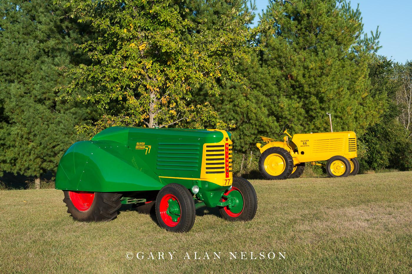 1950 Oliver 77 Orchard and 1954 Oliver 66 Standard