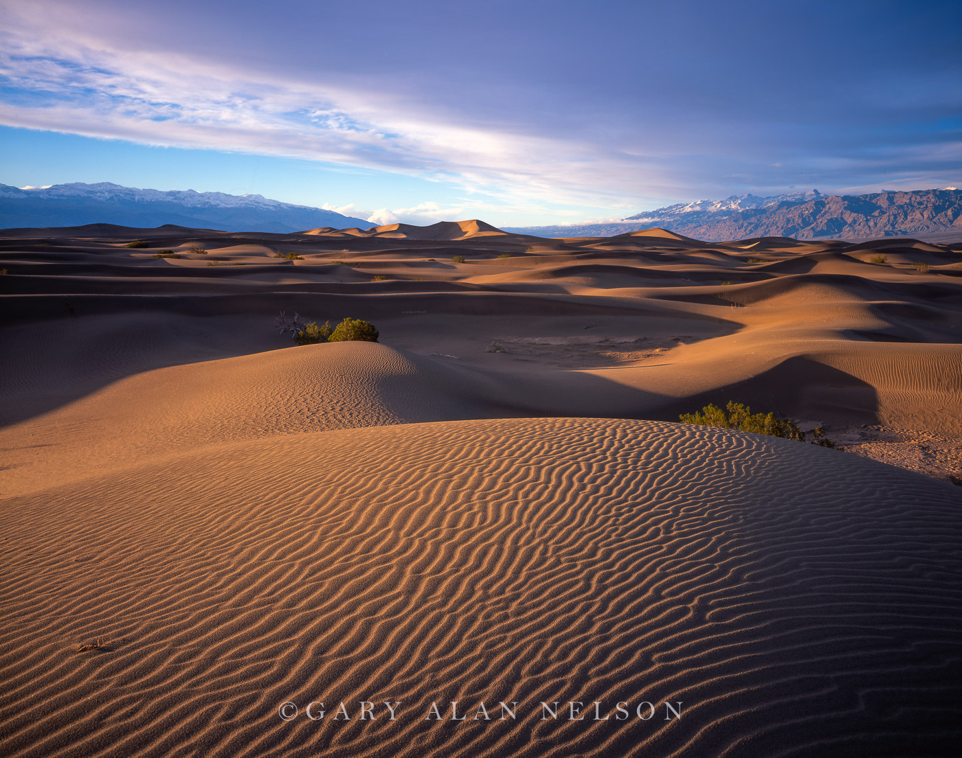 Death Valley National Park, California, sand dunes, photo
