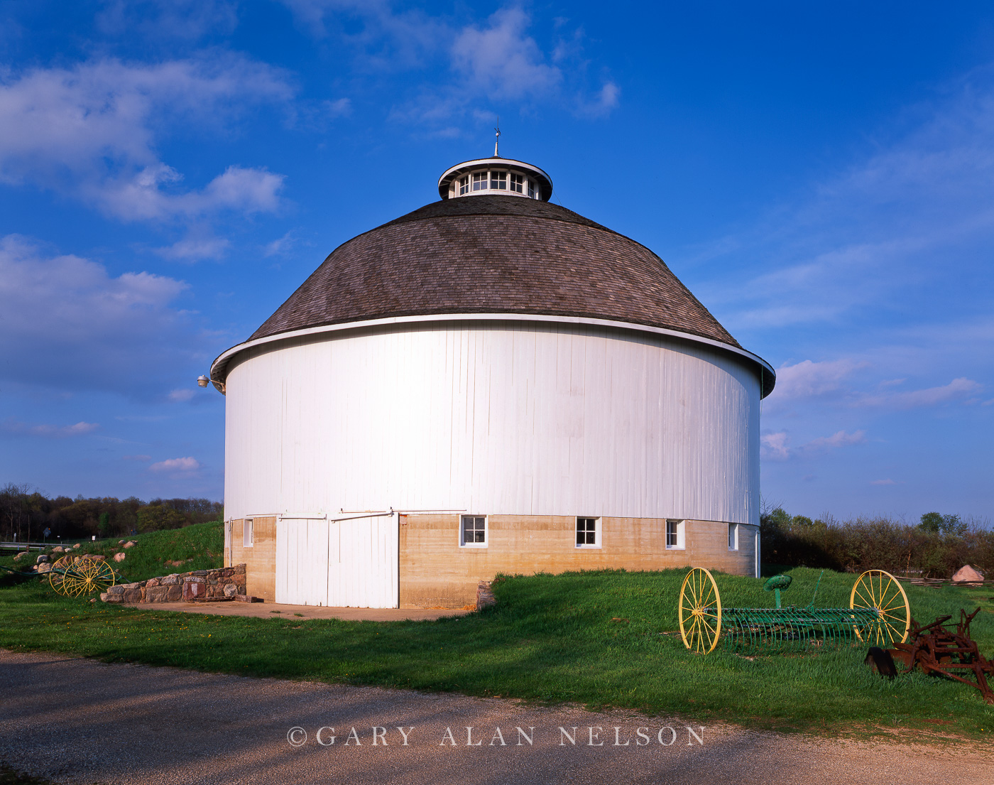 Fulton County, Indiana, round barn, photo