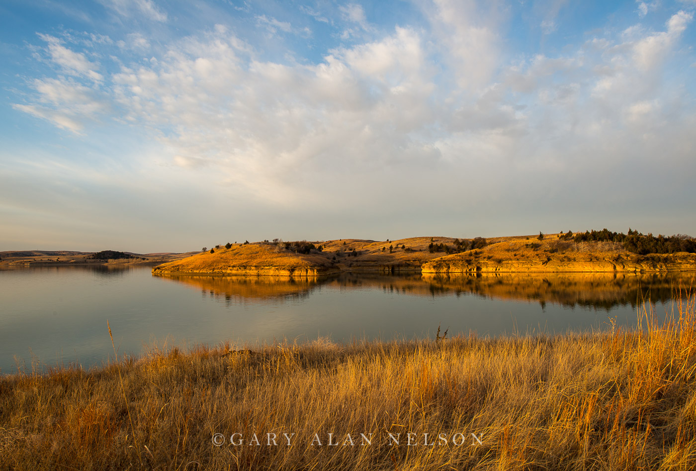 prairie, wilson lake, kansas, state park, photo