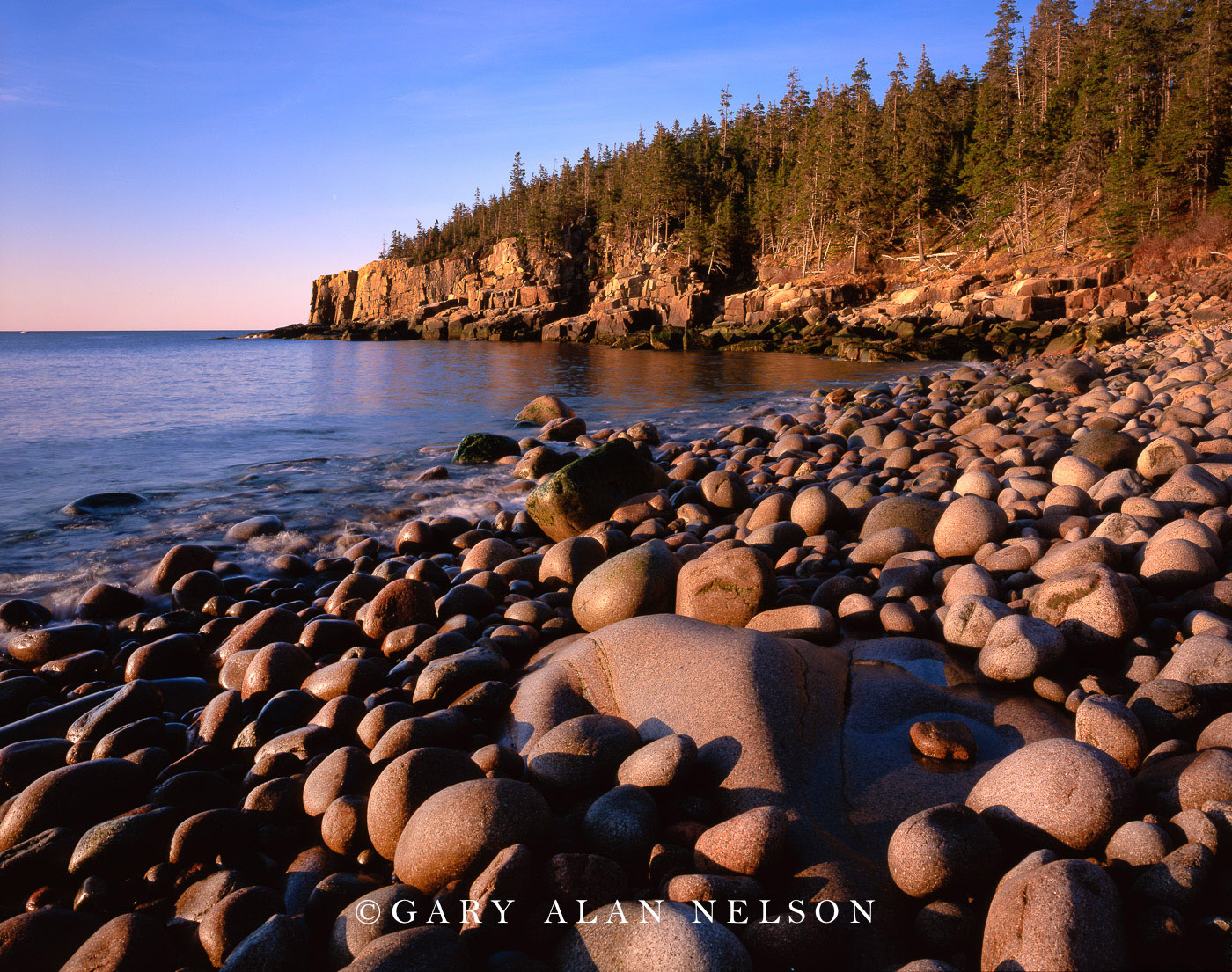 acadia national park, maine, otter point, atlantic ocean, shoreline, photo