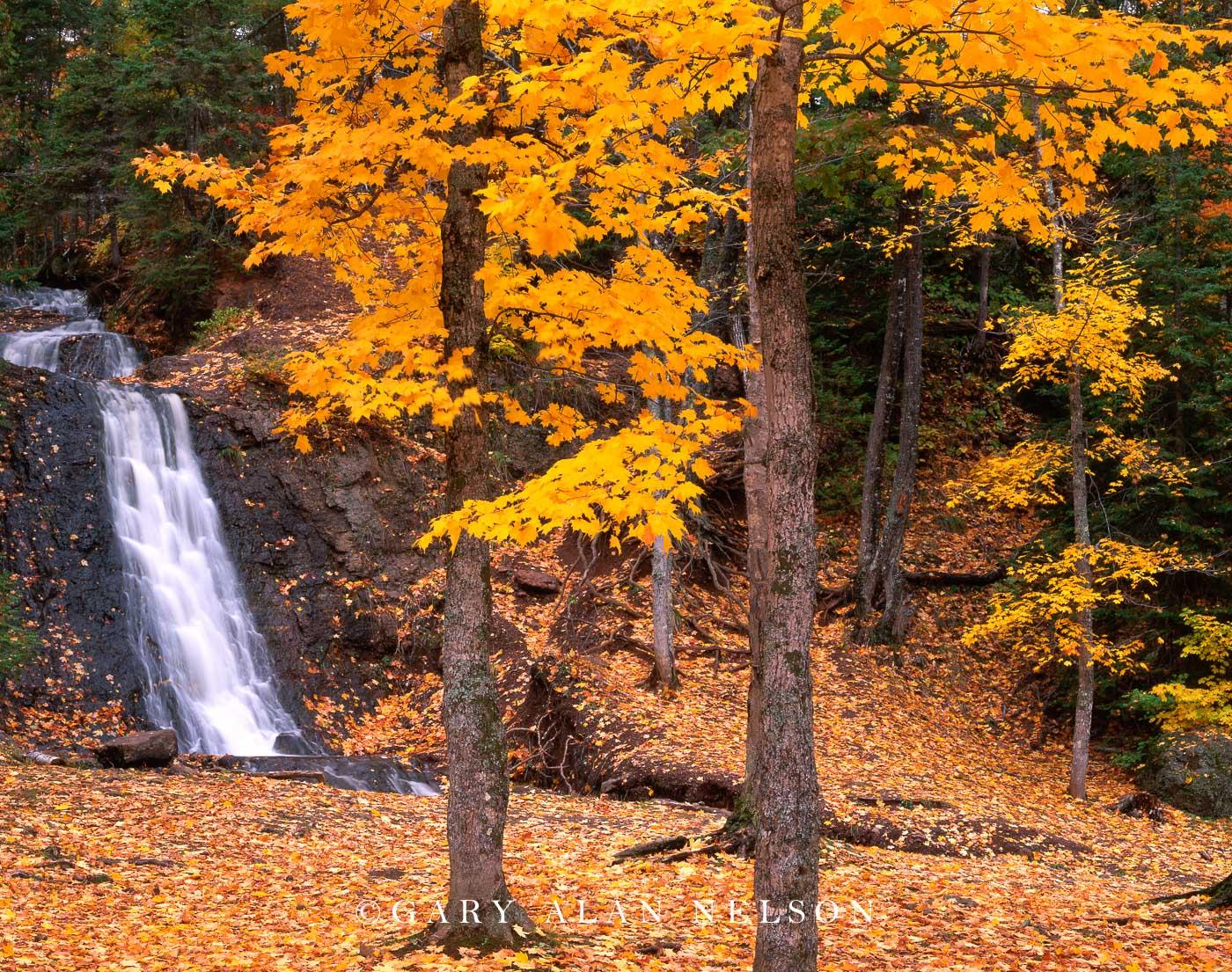 Copper State Forest, Keweenaw Peninsula, Michigan, falls, photo