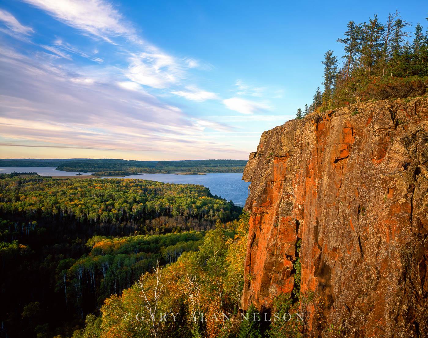 north fowl lake, minnesota, canadian border, photo