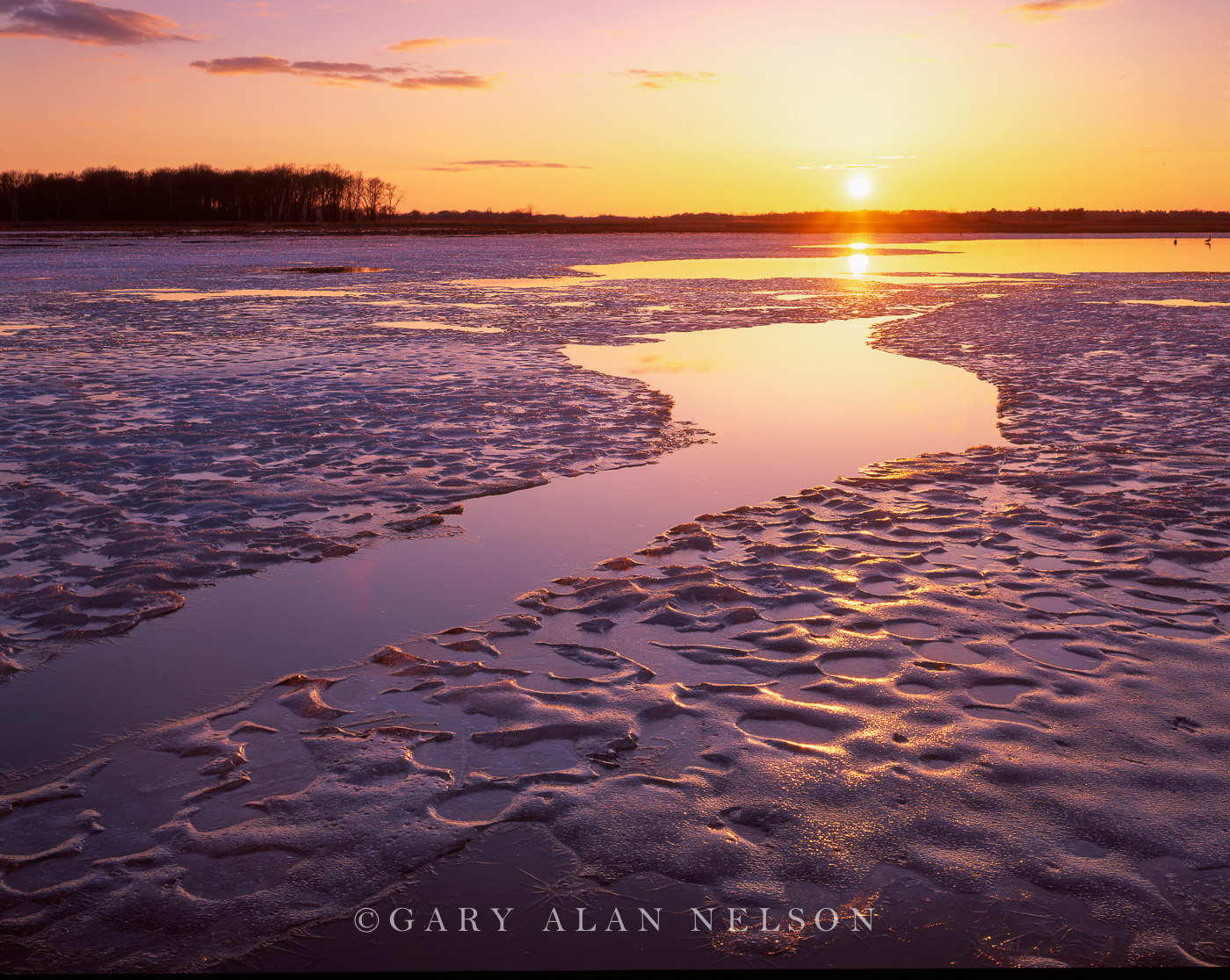 ice, carlos avery, minnesota, photo