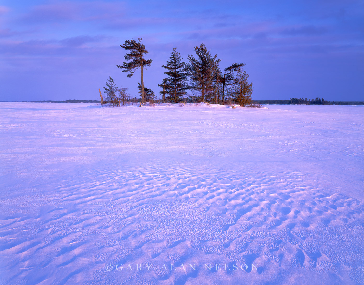 voyageurs national park, minnesota, snow, island, photo