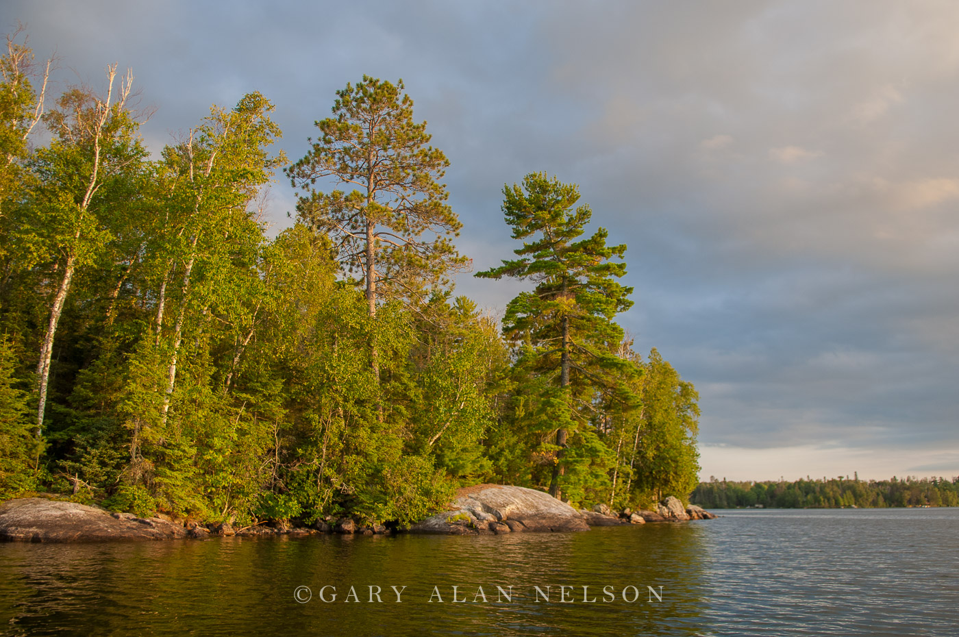 storm, lake, minnesota vermilion, photo