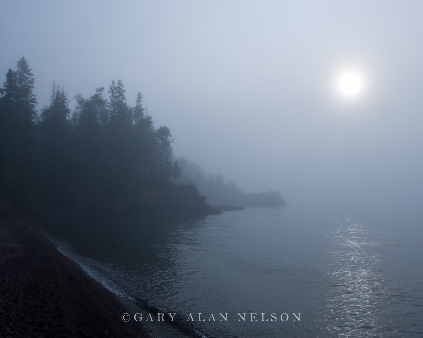 Great Lake,fog,lake,lake superior,minnesota, photo