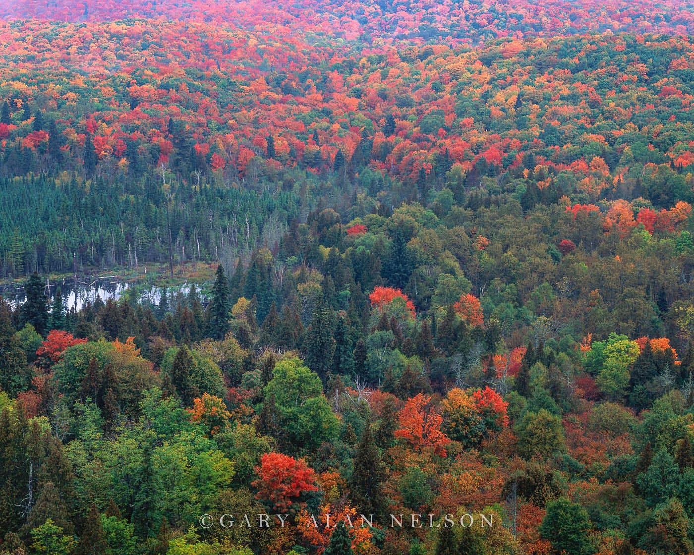 sawtooth mountains, superior national forest, minnesota, photo