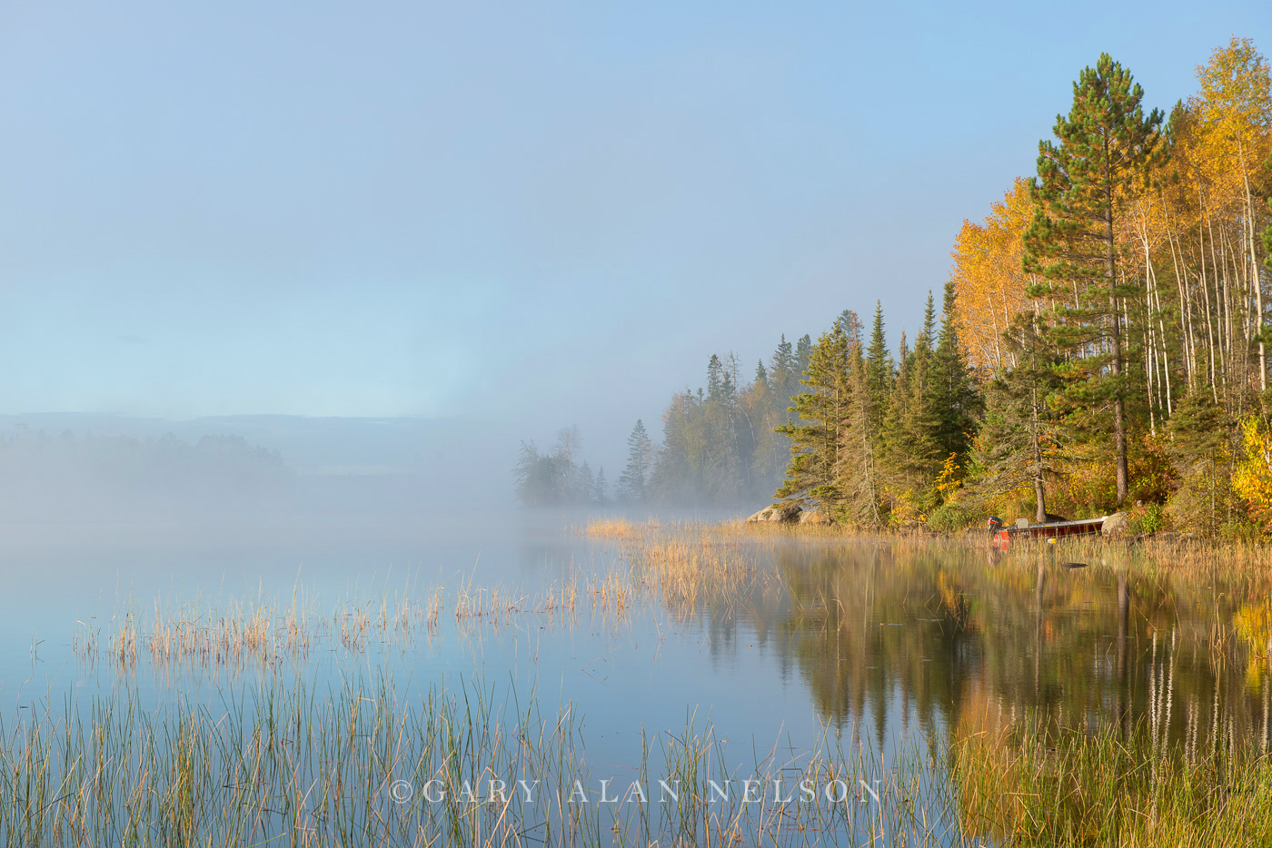 Sunrise,Superior National Forest,boundary waters,boundary waters canoe area,calm,dawn,fog,island,minnesota,national forest,reflections,water,wilderness, photo