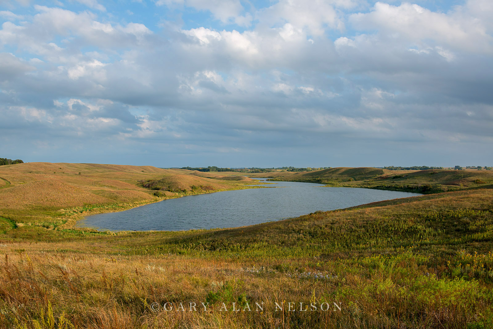 minnesota, prairie, moraine, glacial, prairie grasses, kettle lake, photo