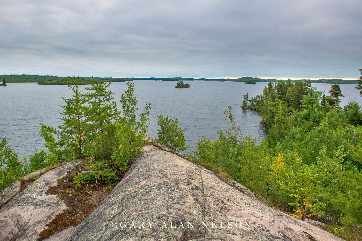Seagull Lake, Boundary Waters Canoe Area Wilderness, Minnesota/Canada