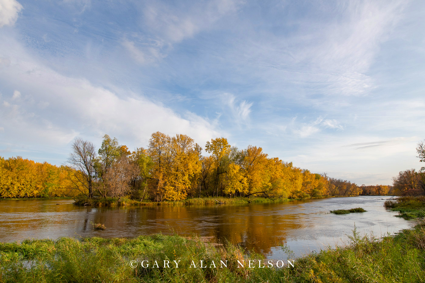 Mississippi River, autumn, minnesota, photo