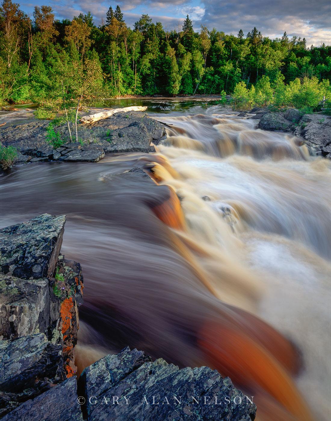 st. louis river, rapid, lake superior, jay cooke state park, minnesota, photo