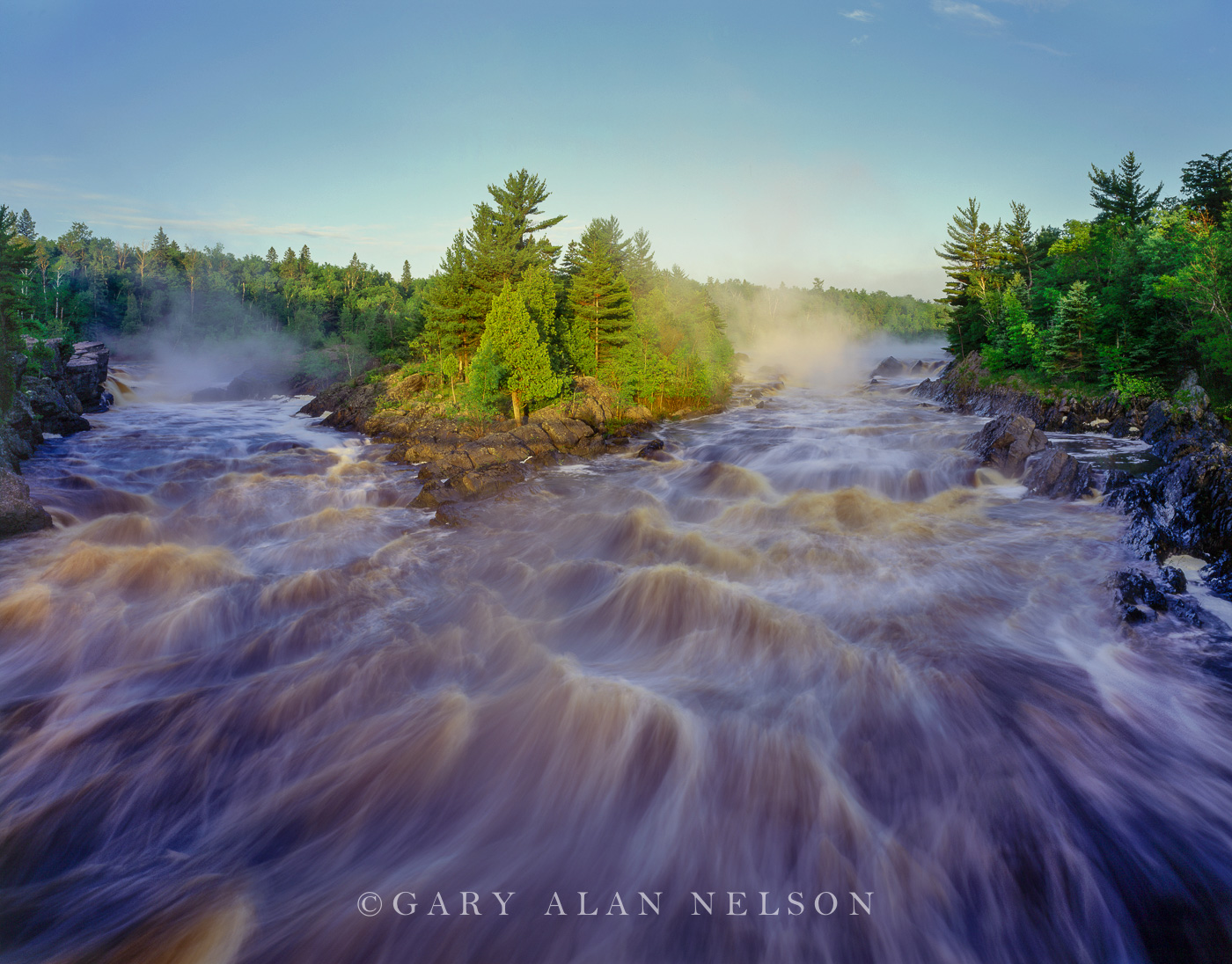 St. louis river, jay cooke state park, minnesota, photo