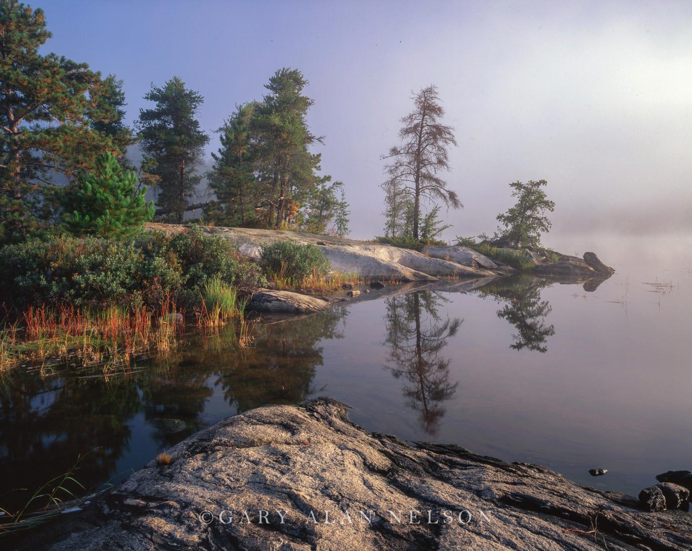 National Park,fog,minnesota,voyageurs, photo