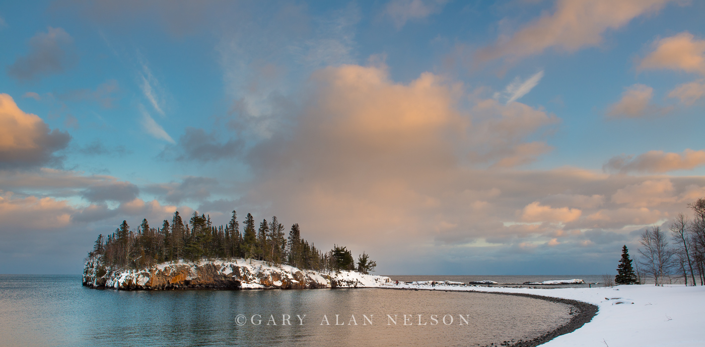 lake superior,minnesota,split rock,state park,winter, photo