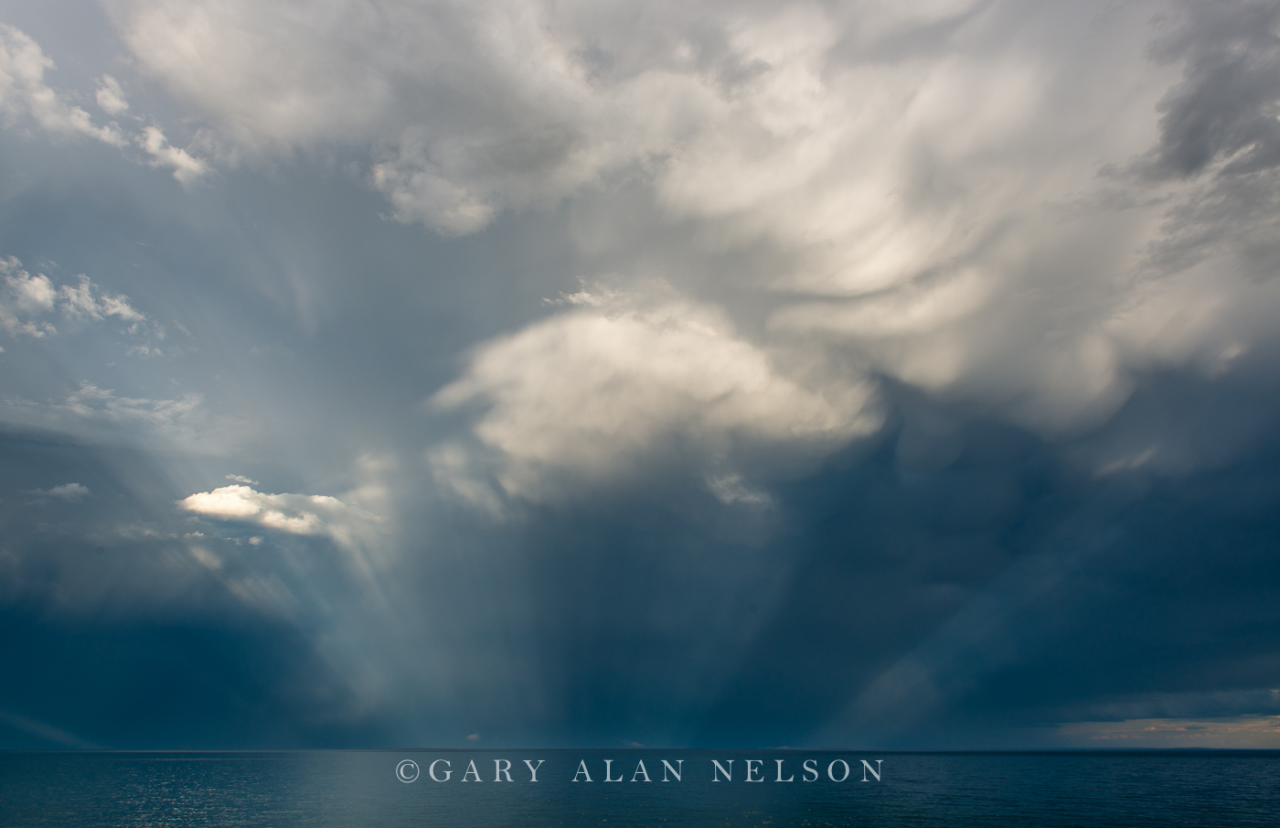 lake superior, minnesota, storm, clouds, photo