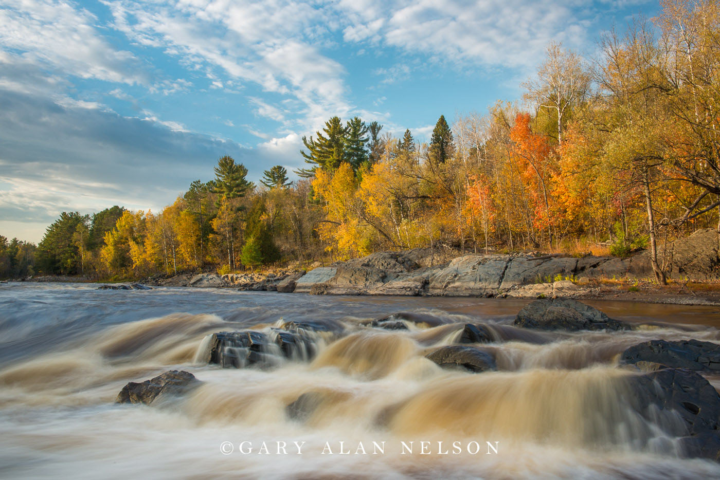 River,autumn,minnesota,state park, photo