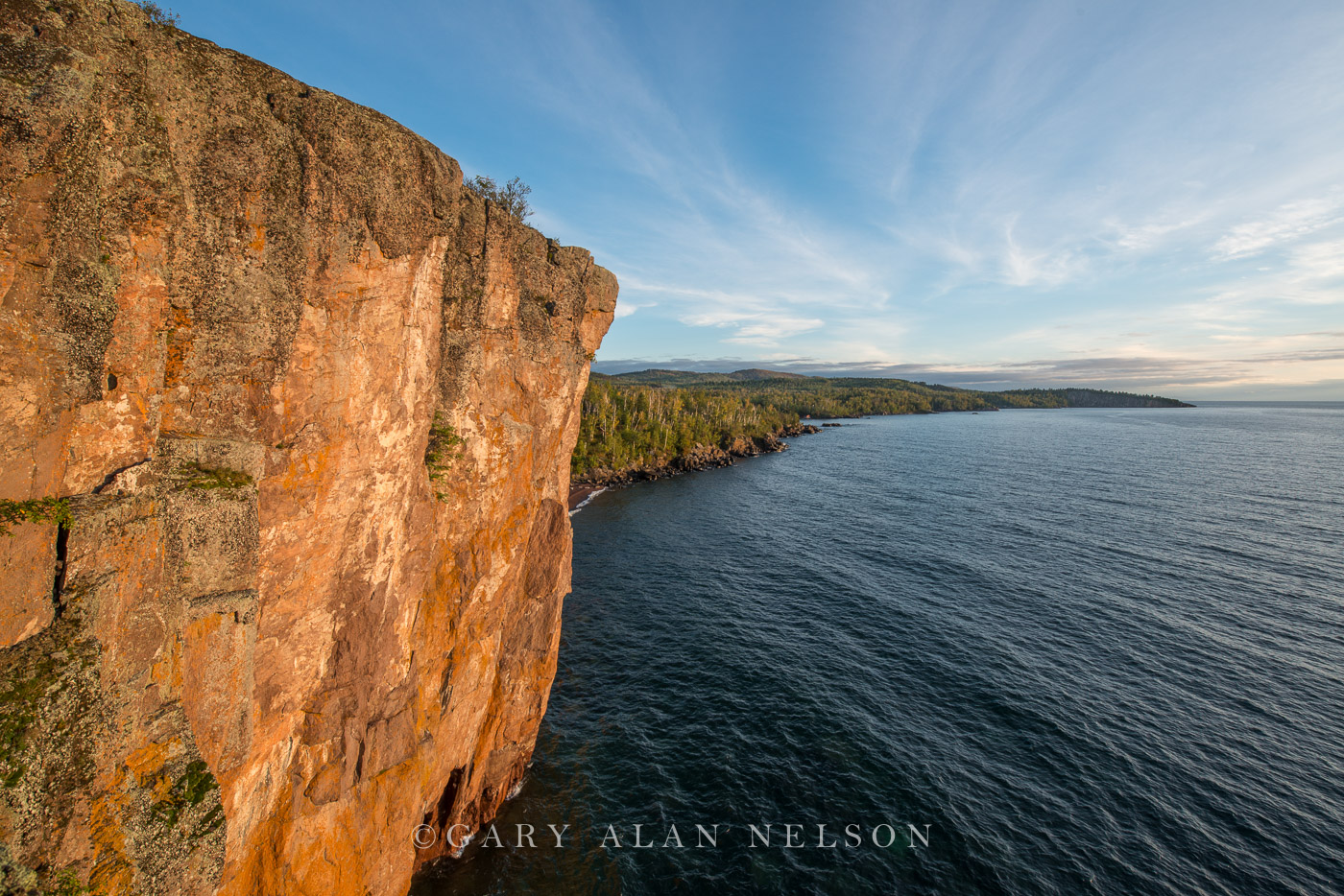 lake superior, minnesota, state park, tettegouche, cliffs, photo