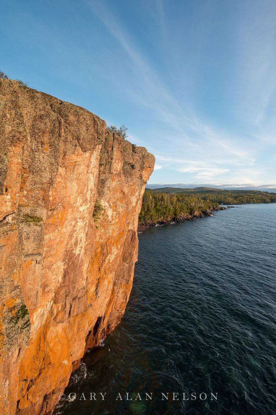 palisade head,make superior, minnesota, cliffs, photo