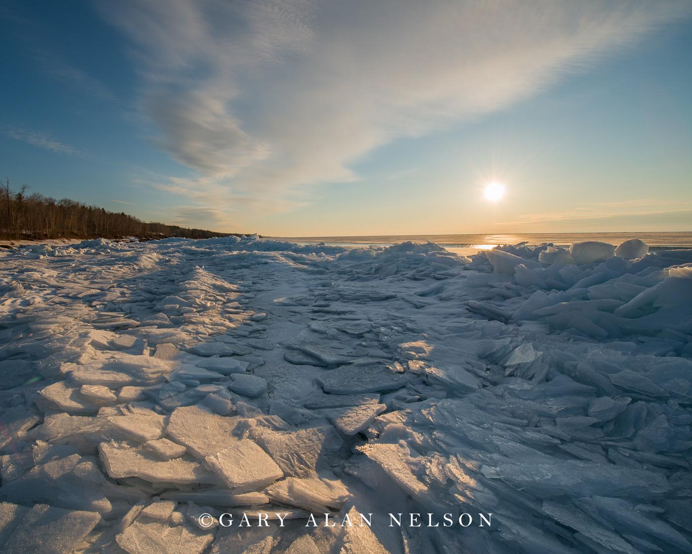 Blue ice,Ice,lake superior,minnesota,winter, photo