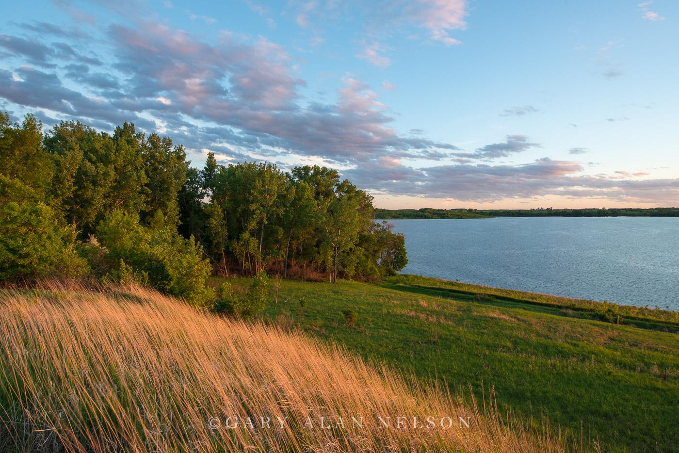 prairie, minnesota, lake, lac qui parle, state park, photo