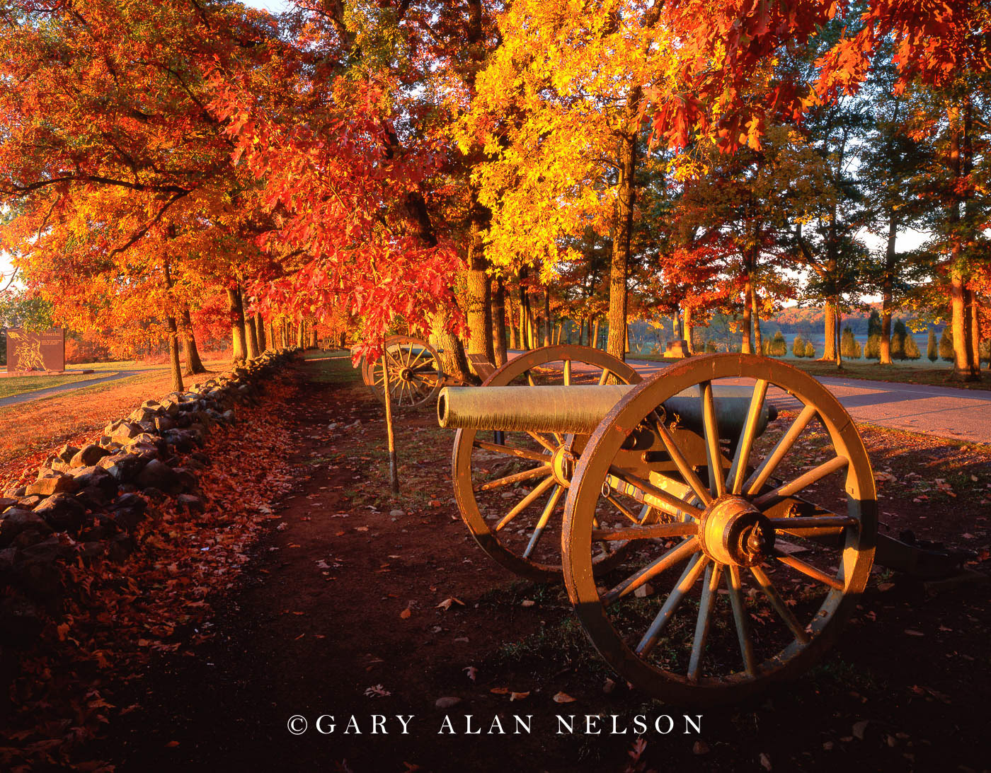 gettysburg, pennsylvania, canons, national military park, photo