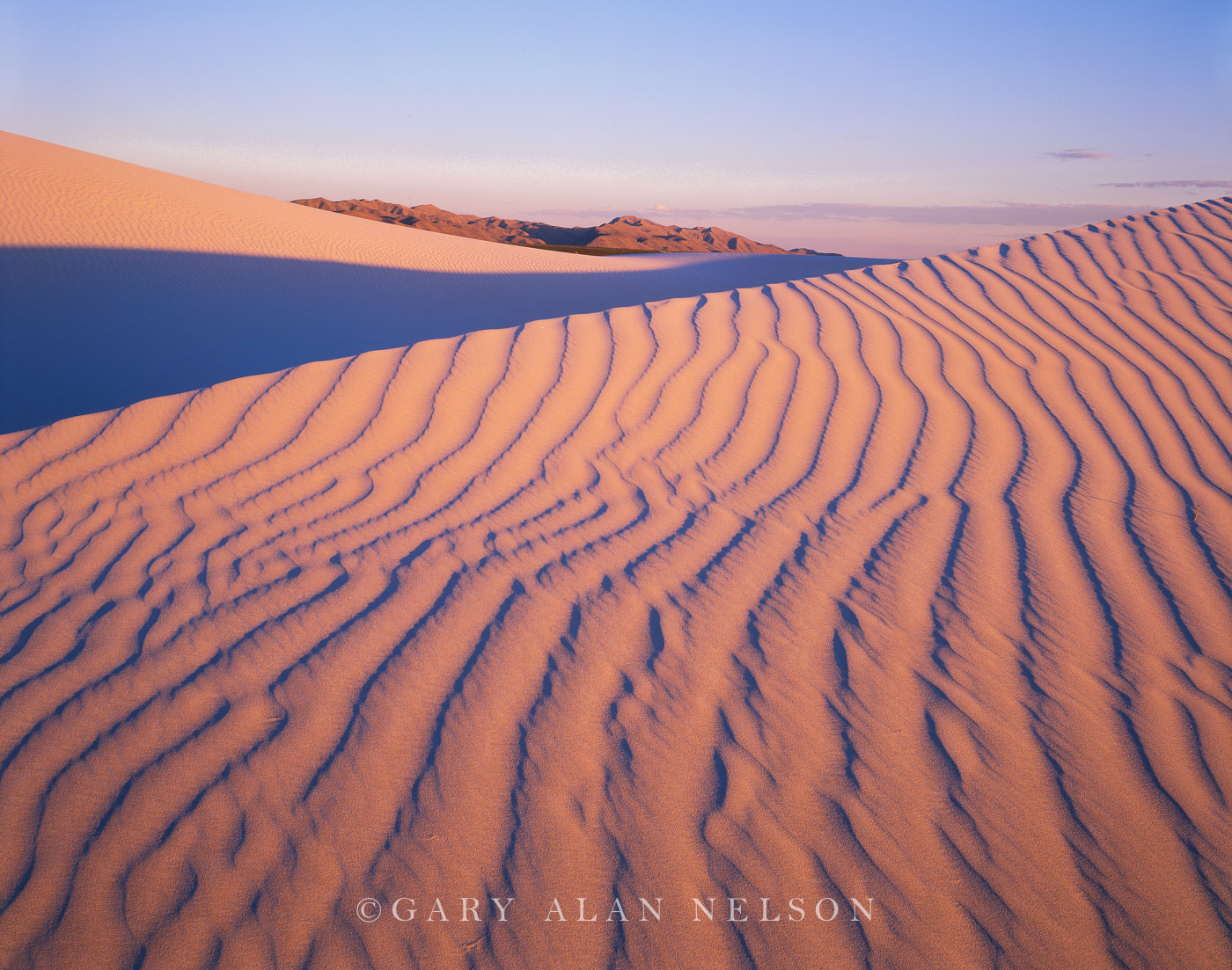 Guadalupe National Park, Texas, sand dunes, photo