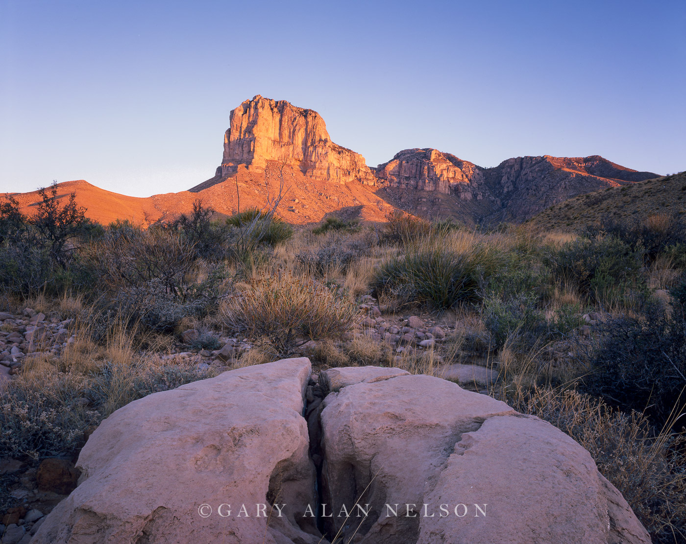 Guadalupe National Park, Texas, rock, photo