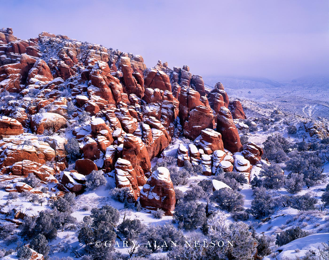 Arches National Park, Utah, fiery furnace, photo