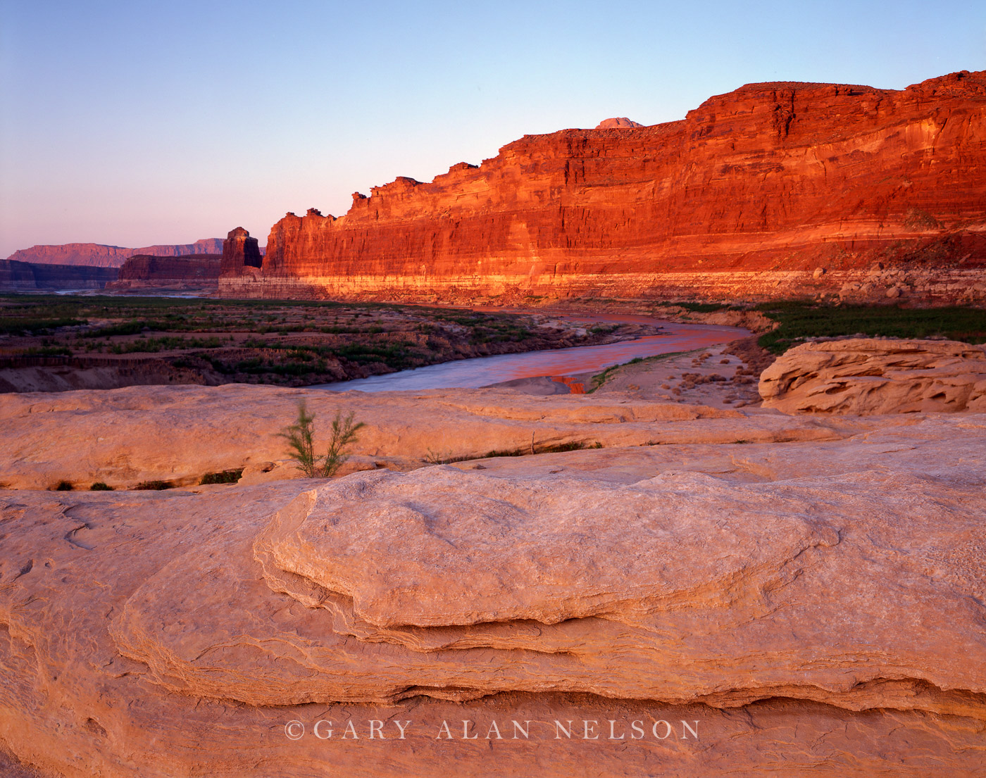 Glen Canyon National Recreation Area, Utah, dried lake bed, dirty devil river, photo