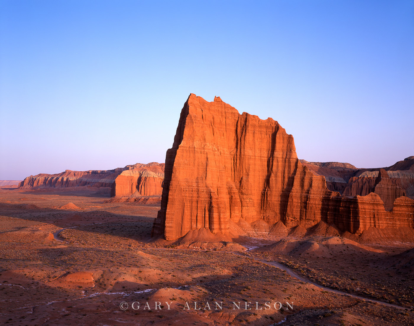 Capitol Reef National Park, Utah, temple of the sun, photo