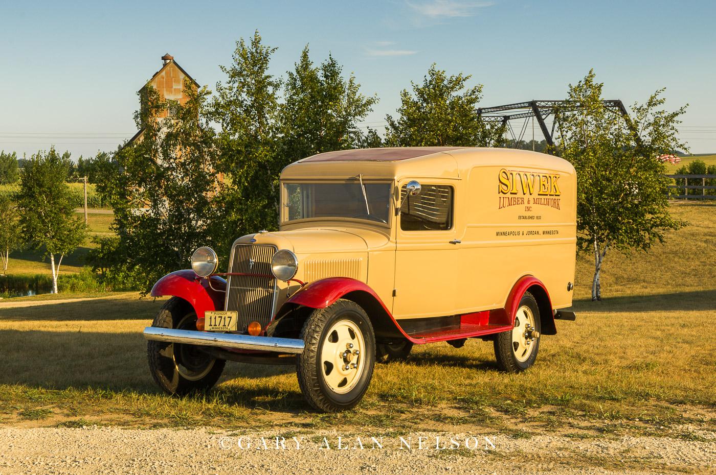 1934 Ford Panel Wagon