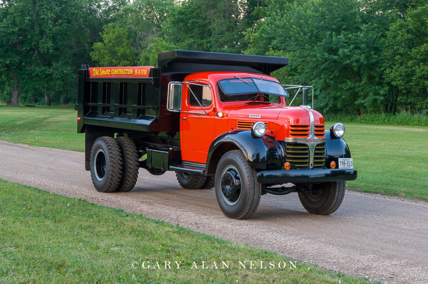 AT-07-48-DO 1947 Dodge 2.5-ton Dump Truck Model WJA 57