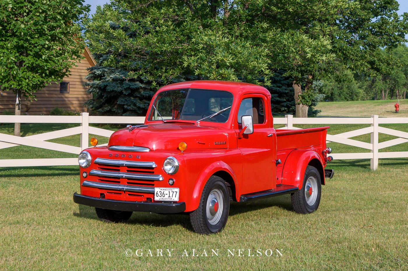 VT-07-72-DO 1949 Dodge B1B 1/2 ton pickup