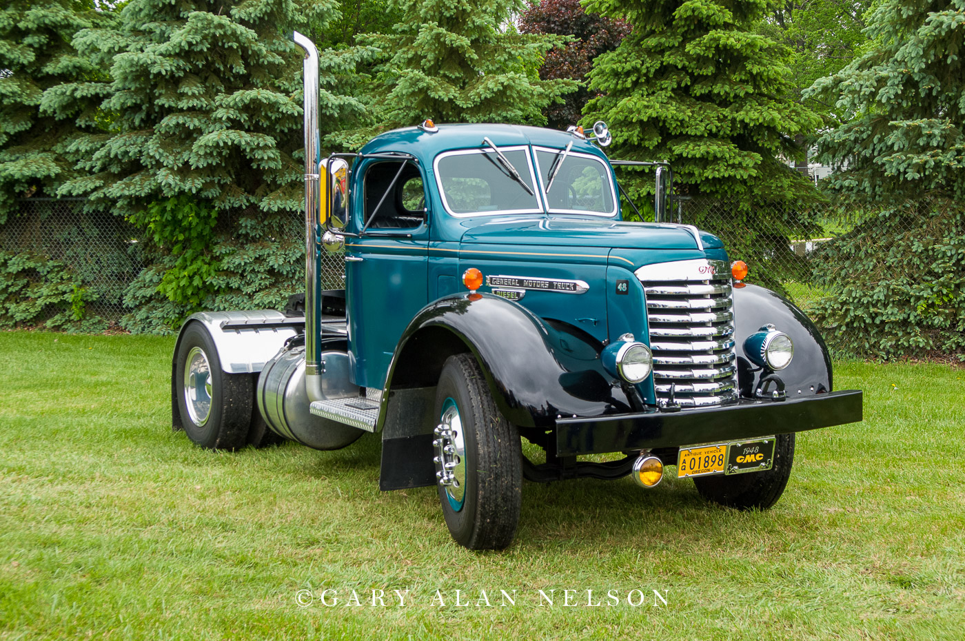 1948 GMC 752 ADCR (A=Series D=Diesel C=Conventional R=Road) Tractor