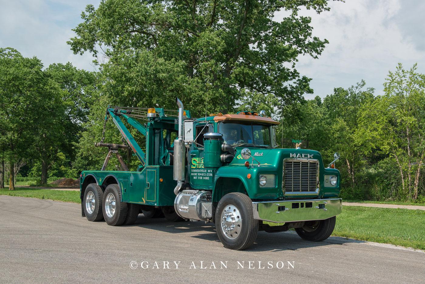 antique truck, old truck, mack, tow truck, wrecker, photo