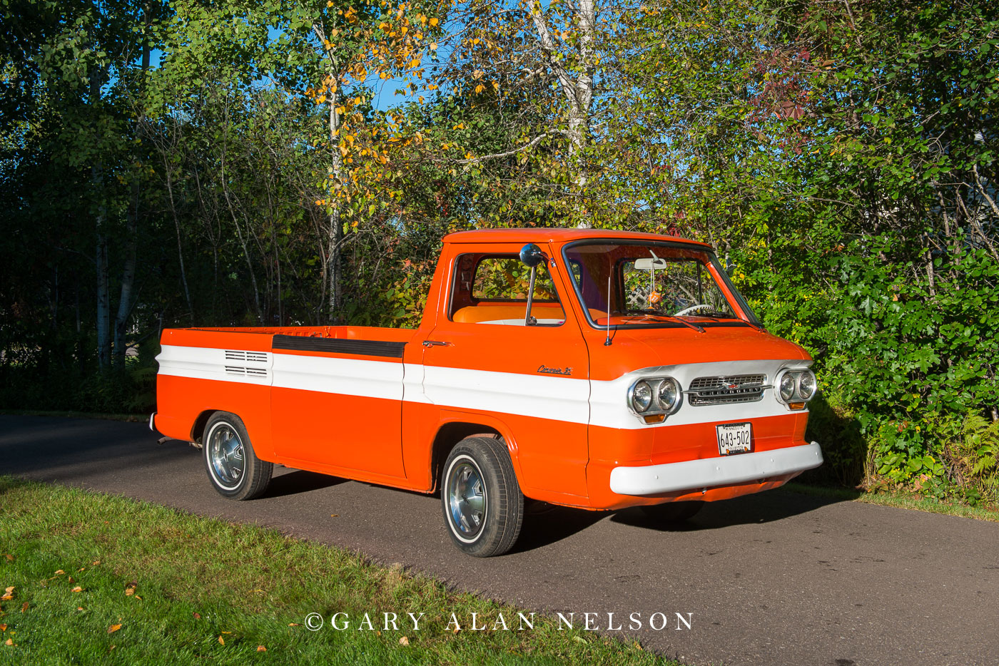 antique truck, chevy, chevrolet, corvair, photo