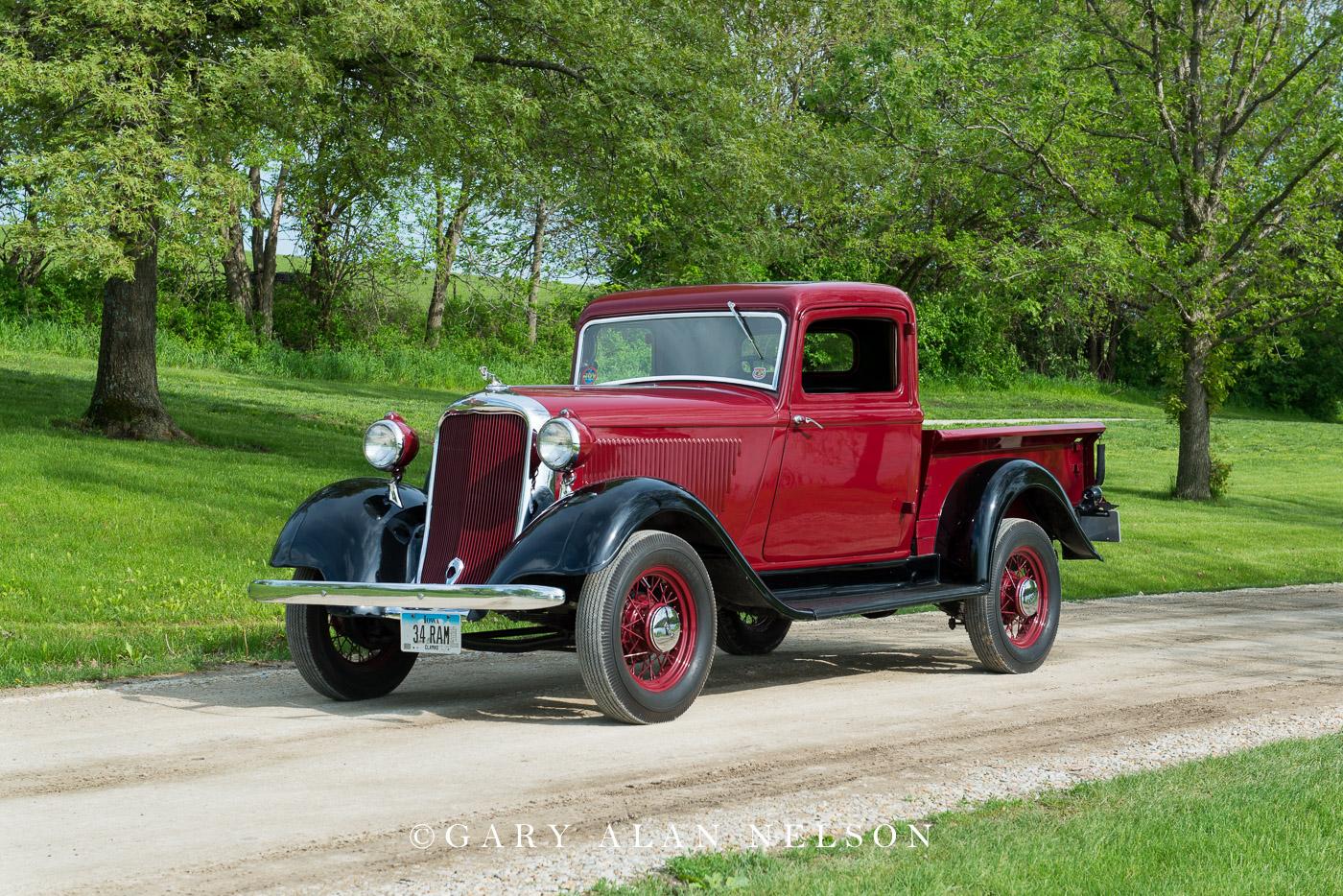 antique truck, dodge, vintage trucks,1934 Dodge KC Pickup, photo