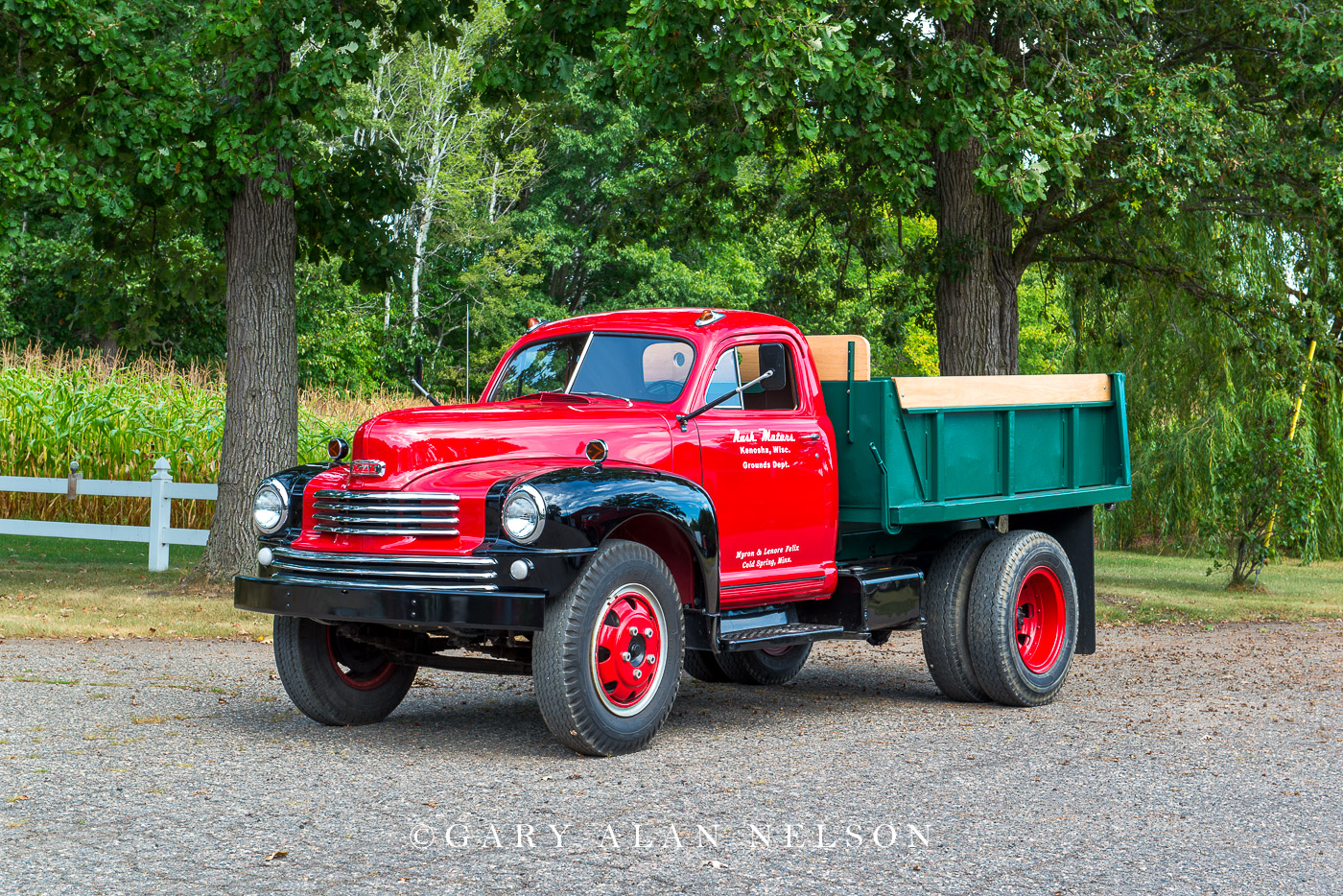 1949 Nash Dump Truck